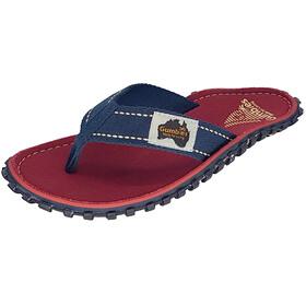 GUMBIES Islander - Sandales - rouge/bleu